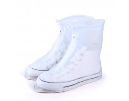 Дождевик для обуви Белый .(L) фото