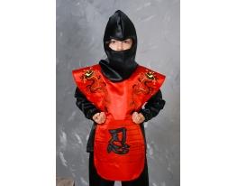 Детский карнавальный костюм Нинзя фото