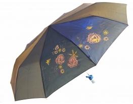 Зонт антишторм полуавтомат Цветы Хамелеон фото