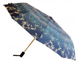 Зонт автомат Антишторм Love Rain Индиго с орнаментом фото 1