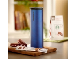 Термостакан Navy Blue Starbucks фото