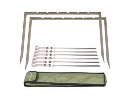 Мангал походная-рамка MOUSSON RINO 6 IBS фото, купить, цена, отзывы