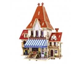 Домик-конструктор «Цветочный магазин. Франция» фото