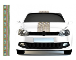 Наклейка Автовышиванка с гербом фото