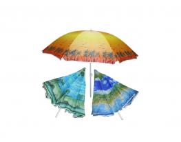 Пляжный зонт с наклоном 2.0 Umbrella Anti-UV ромашка фото