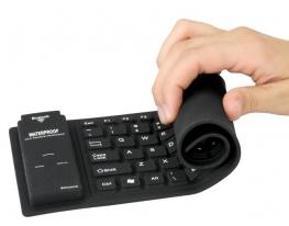 Резиновая гибкая USB-клавиатура Roll фото