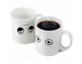 Чашка-хамелеон Глазки фото