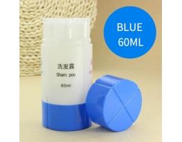 Портативная емкость - набор бутылочек для косметических средств 4 в 1 Голубой фото