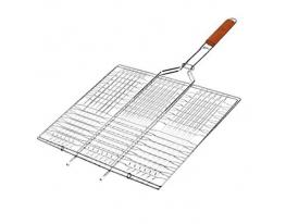 Решетка-гриль плоская большая 70х45х36 см фото 1