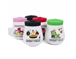 Чашка с крышкой Angry Birds фото