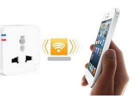 Умная розетка с Wi-fi управлением Smart Plug фото