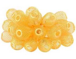 Гирлянда Груша Золото мини LED 20 Жёлтая фото