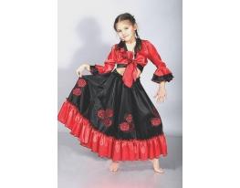 Детский карнавальный костюм Цыганка фото