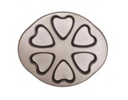 Форма для выпечки Сердечки антипригарное покрытие фото