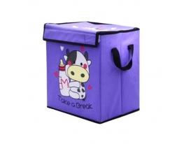 Ящик для хранения игрушек с ручками фото