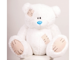 Плюшевый медведь Гриша 140 см Белый фото 1