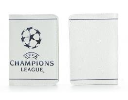 Кожаная обложка на паспорт Лига Чемпионов фото