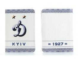 Кожаная обложка на паспорт Динамо Киев фото