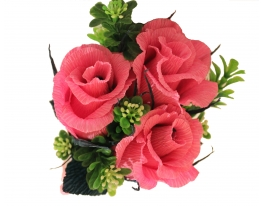 Букет с конфет Вкусные Розы фото