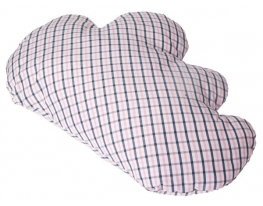 Декоративная подушка Тучка в клетку фото 2