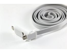 Уплотненный USB кабель 2в1 для Iphone и Samsung фото