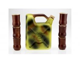 Подарочный набор для напитков Канистра хаки фото