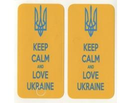 Виниловая наклейка для iPhone 4/4s Keep Calm + заставка фото