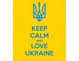 Виниловая наклейка на телефон L Keep Calm фото