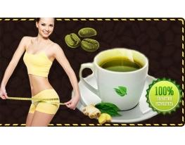 Зеленый молотый кофе с имбирем для похудения Vencedor Coffee фото