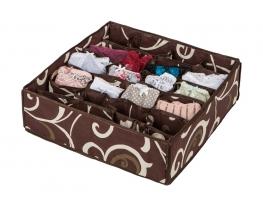 Коробочка для белья на 24 секции Горячий Шоколад фото 2