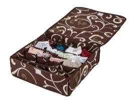 Коробочка на 24 секции c крышкой Горячий Шоколад фото