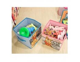 Короб складной для детских игрушек, вещей фото