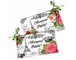Косметичка-кошелек Bonjour Paris! фото