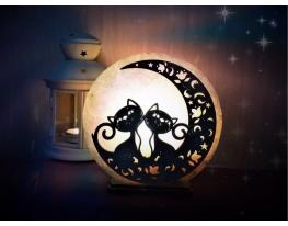 Соляная лампа Свидание на луне фото