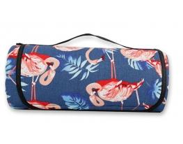 Водонепроницаемый коврик для пикника Фламинго фото