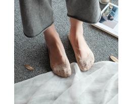 Кружевные тапочки-носочки фото