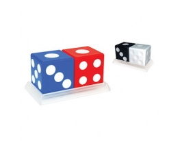 Солонки Кубики Разноцветные фото