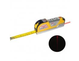 Рулетка с лазерным уровнем Laser level pro 3 фото