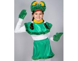 Детский карнавальный костюм Лягушка фото