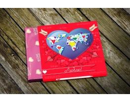 Шоколадный набор Люблю стандарт фото 1