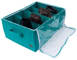 Органайзер для обуви на 4 секции Лазурь фото
