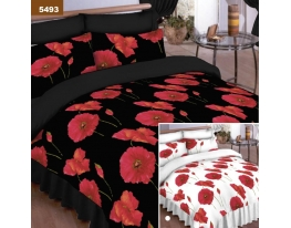 Постельное бельё двухспальное Маковая поляна фото
