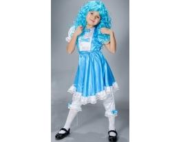 Детский карнавальный костюм Мальвина фото