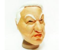 Маска резиновая Ельцин фото