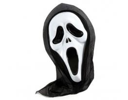 Карнавальная маска Крик пластик фото