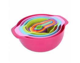 Набор кухонной мерной посуды 10 предметов фото
