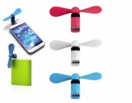 Micro USB вентилятор для телефона фото