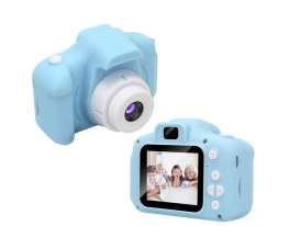 Детский фотоаппарат с дисплеем Мятный фото