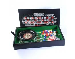 Набор для игры Рулетка и мини покер фото