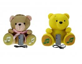 купить Игрушка Мишка (колонка, плеер mp3, радио), обложка на автодокументы, цена, отзывы.